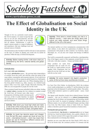 209 The Effect Of Globalisation On Social Identity In The Uk
