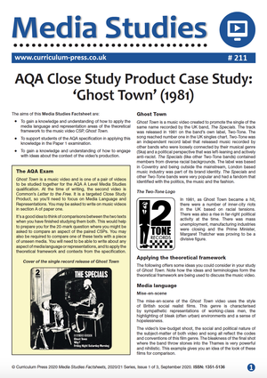 211 Close Study Product Ghost Town