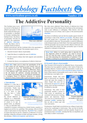 211 The Addictive Personality