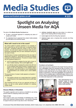 215 Analysing Unseen Media