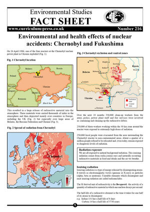 216 Nuclear Accidents