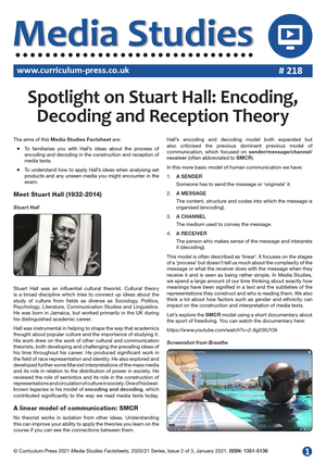218 Spotlight on Stuart Hall