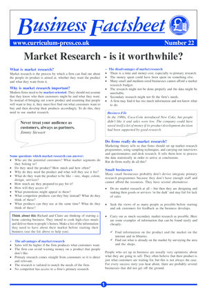 22 Market Research