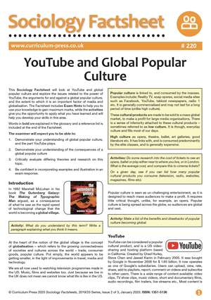 220 You Tube and Global Popular Culture v2
