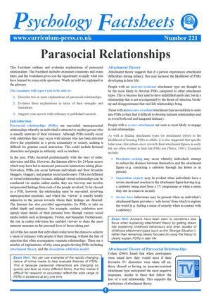 221 Parasocial Relationships