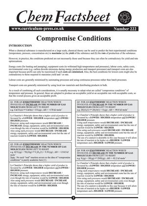 222 Compromise Conditions