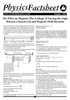 256 Magnetic Flux Linkage