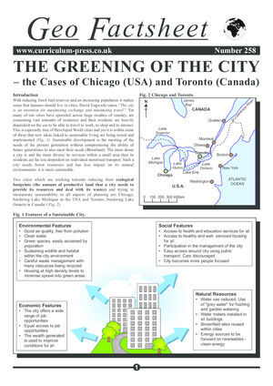 258 Greening Of The City