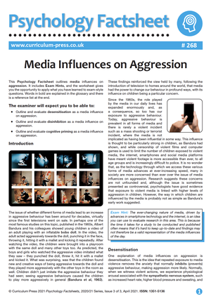 268 Media Influences on Aggression