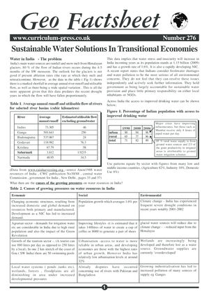 276 Sustainable Water