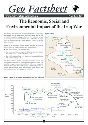 277 Economics Of Iraq War