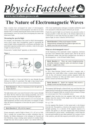 282 Electromagnetic Waves