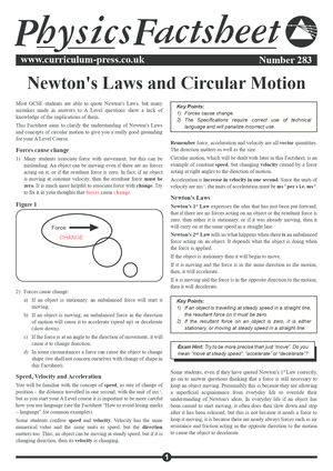 283 Newtons Laws And Circular Motion