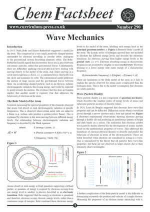 290 Wave Mechanics