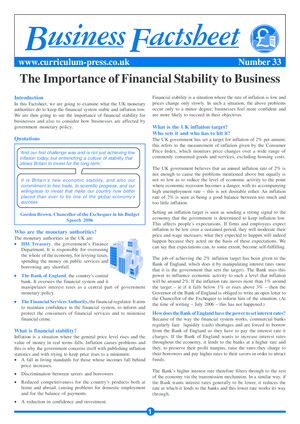 The Importance of Financial Stability to Business