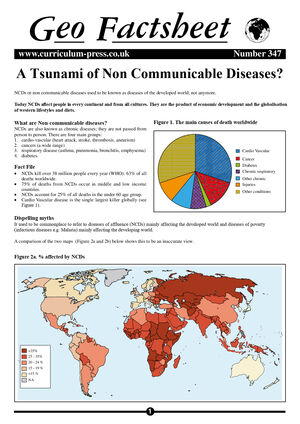 347 A Tsunami Of Non Communicable Diseases