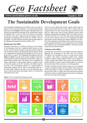 369 The Sustainable Development Goals