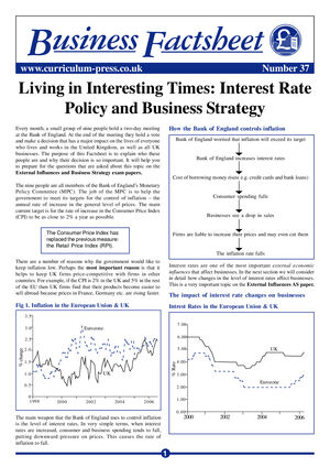 37 Interest Rate Policy