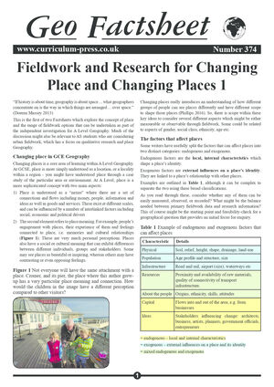 374 Fieldwork And Research 1