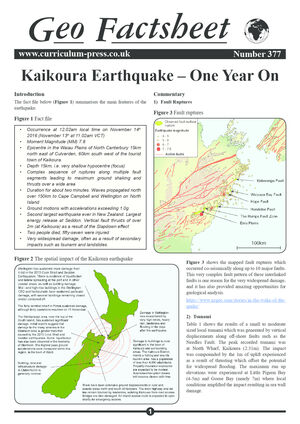 377 Kaikoura Earthquake