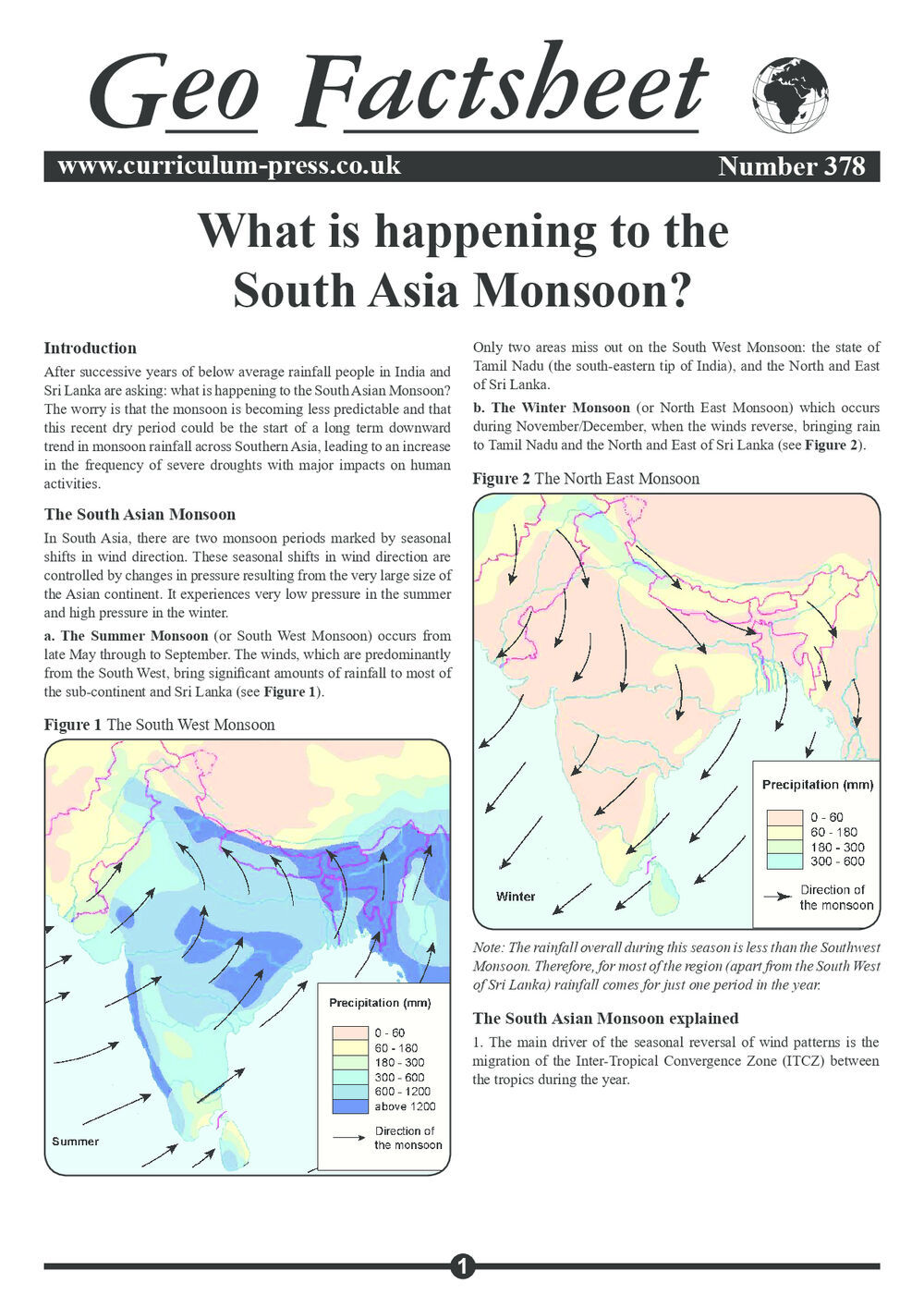 378 South Asia Monsoon