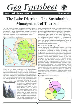 387 Lake District Sustainable Management Of Tourism