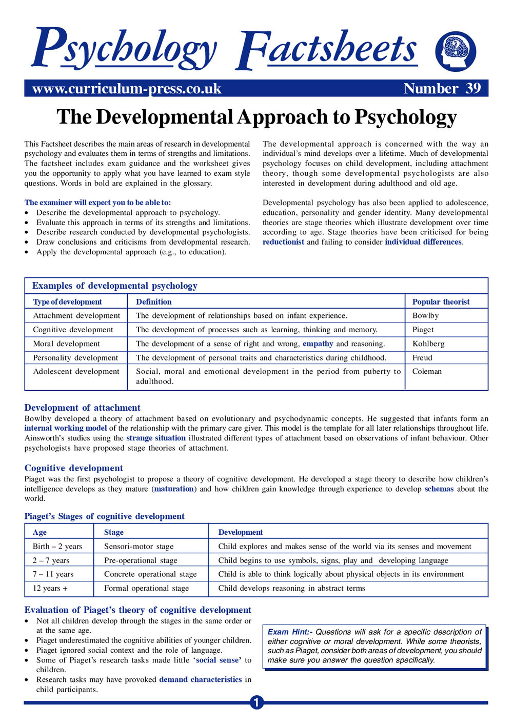Theories Of Developmental Psychology Pdf