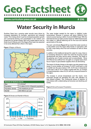 396 Water Security in Murcia