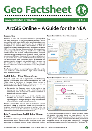 412 Arc GIS Online A Guide for the NEA v2