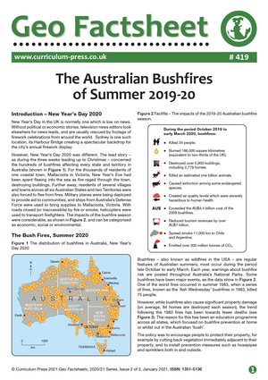 419 The Australian Bushfires of Summer 2019 20