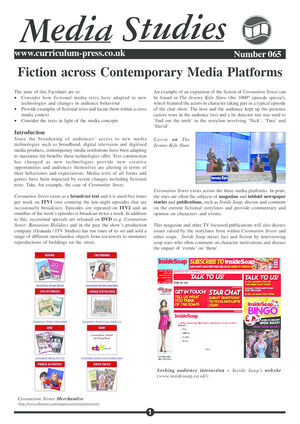 65 Fiction Media Platform