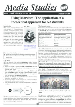 66 Applying Marxism
