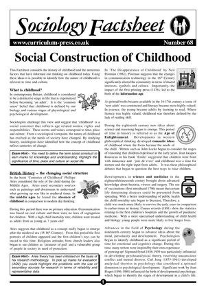 68 Social Cons Childhood