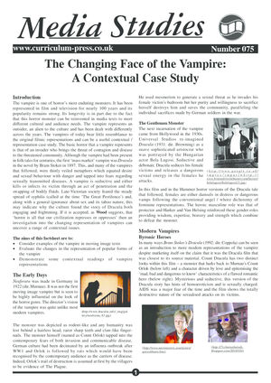 75 Changing Face Vampires