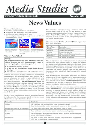 76 News Values