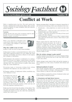 88 Conflict At Work