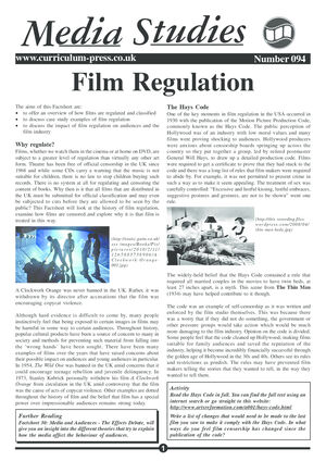 94 Film Regulation