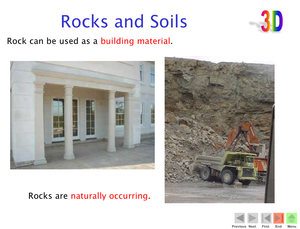 3D Rocks And Soils