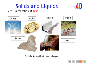 4D Solids And Liquids