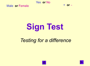 Psych Sign Test