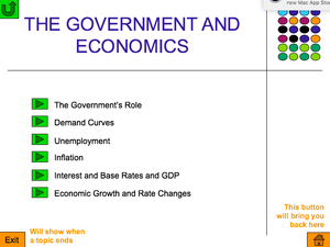 As  Government And Economics