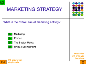 As  Marketing Strategy