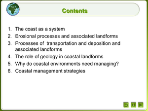 Coastal Landforms And Their Management