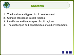 Cold Environments Landscapes And Change